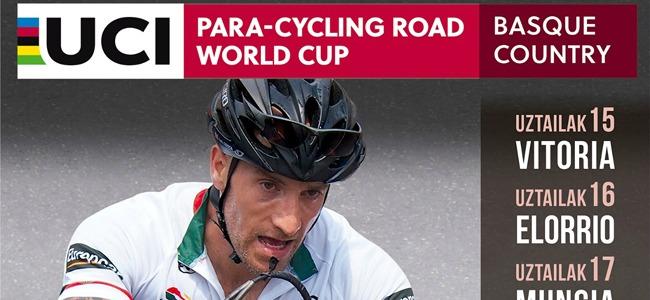 Cartel del campeonato del mundo de ciclismo adaptado. Fuente: RFEC