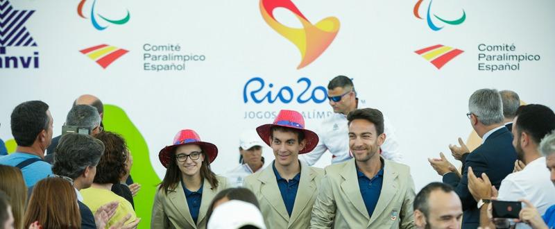 Presentación de las equipaciones de Luanvi. Fuente: Comite Paralímpico Español