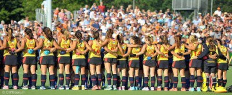 Equipo femenino de hockey en Breda (Holanda) FUENTE: Cliff Baaij