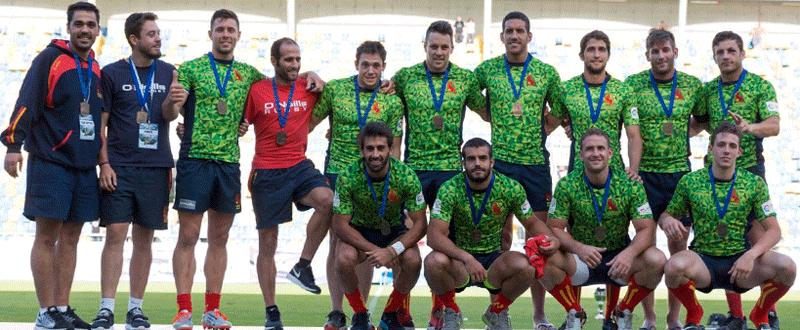 Selección Maculina de Rugby Seven Fuente: Ferugby
