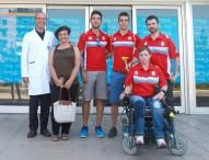 Los atletas paralímpicos, listos para partir a Río