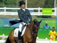 Albert Hermoso finaliza 31º en la doma del concurso completo