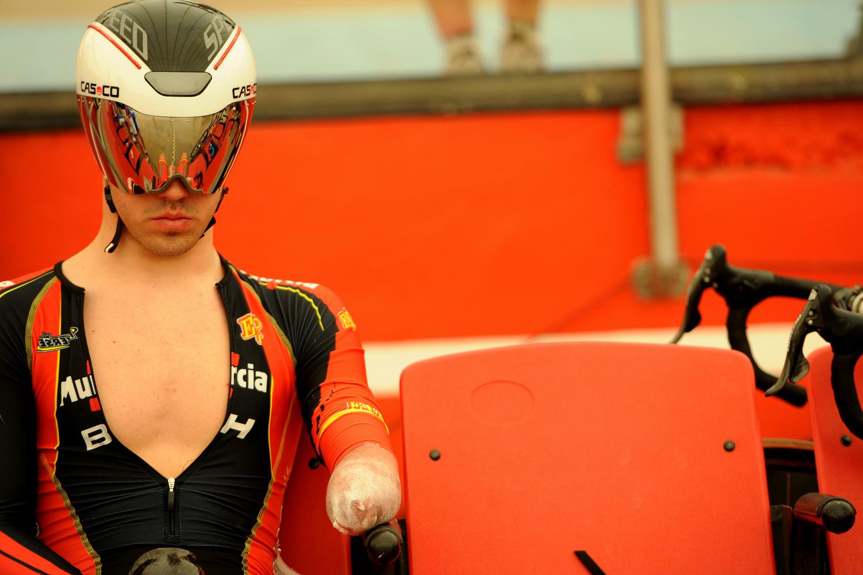 Cabello, antes de competir. Fuente: CPE