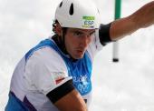 Ander Elosegi, diploma olímpico