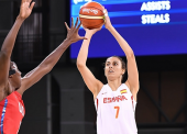 La selección española de Baloncesto abatida por el 'Dream Team'