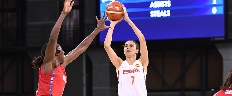 Selección española de baloncesto femenino Fuente:FEB