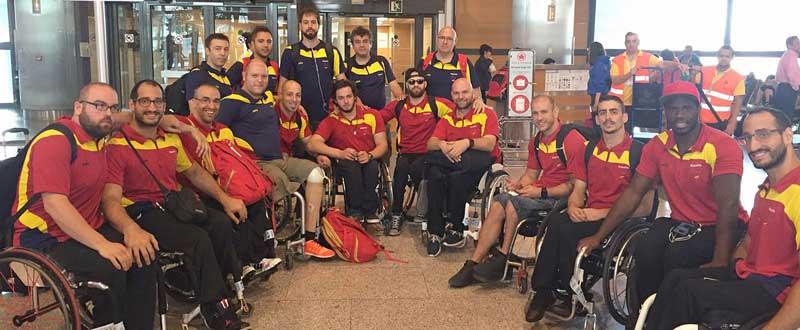 Selección española de baloncesto en silla Fuente:AD