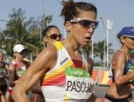 Beatriz Pascual, diploma olímpico en marcha