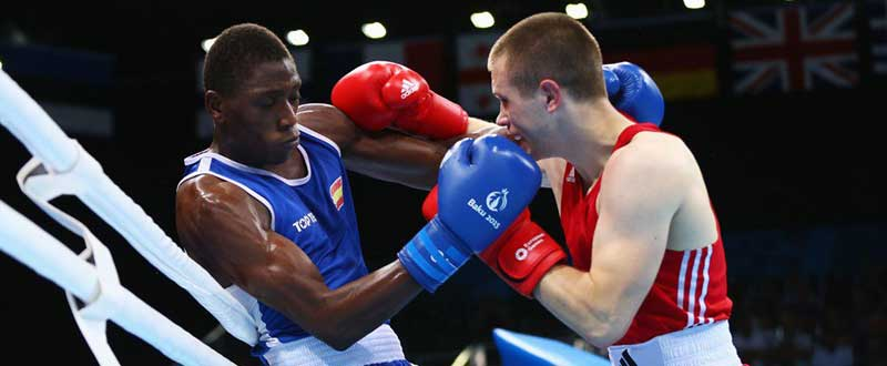 Sissokho combatiendo. Foto: RTVE