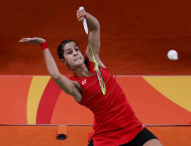Carolina Marin muestra su mejor bádminton y está en semifinales