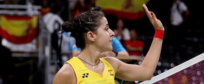 Carolina Marín en Río 2016. Fuente: EFE