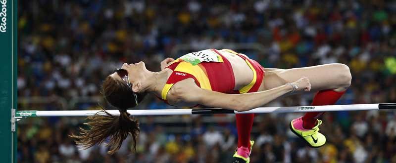 Ruth Beitia, campeona olímpica