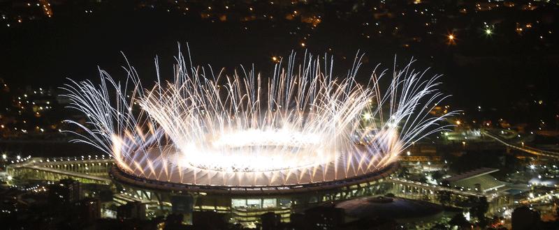 Ceremonia Inaugural de los Juegos Olímpicos Río 2016. Fuente: EFE/EPA/BARBARA WALTON