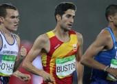 David Bustos, diploma olímpico en 1500 m