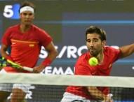 Nadal-López también avanzan en dobles (6-4 y 6-4)