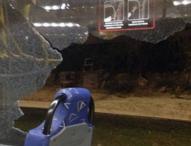Atacado autobús oficial para traslado de periodistas en los Juegos