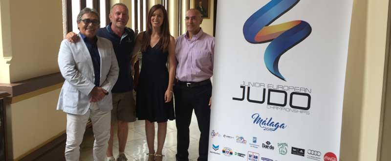 Presentación del europeo junior de judo. JR/avance deportivo