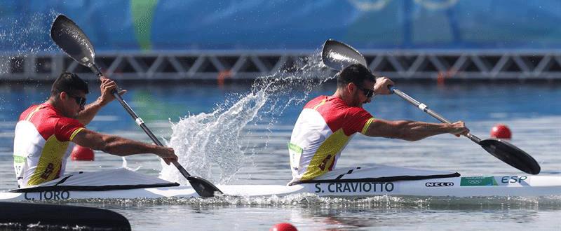 Toro y Craviotto. Fuente: EFE