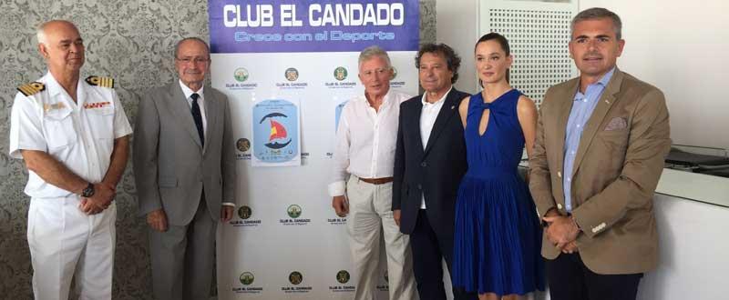 El alcalde presenta la 2ª regata bahía de Málaga-Alhucemas. Foto: JR/Avance Deportivo