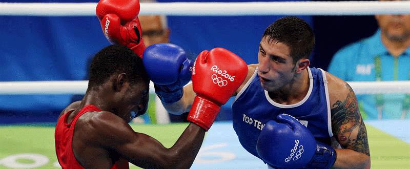 El boxeador Samuel Carmona en Río 2016. Fuente: EFE