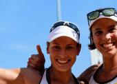 Lili y Elsa comienzan con triunfo en Río