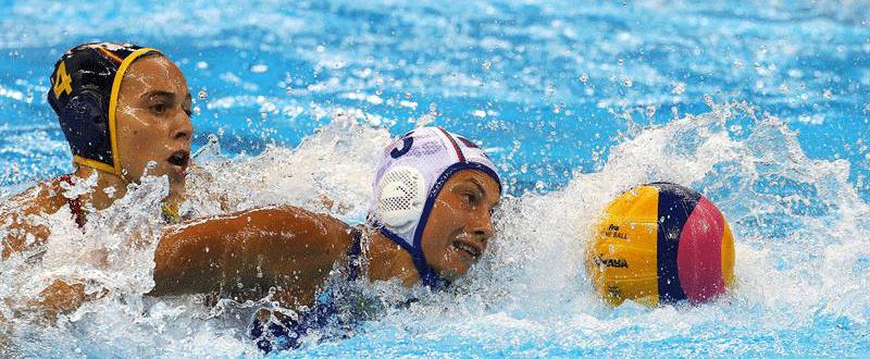 Waterpolo femenino en Río. Fuente: EFE