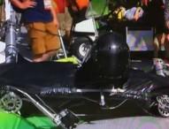 Una cámara aérea cae y hiere a 2 personas en Río