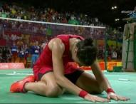 """Carolina Marín: """"Es una derrota dura de la que tendré que aprender"""""""