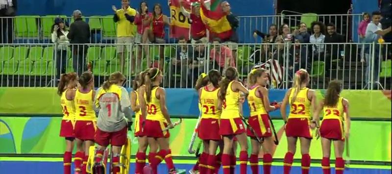 selección española de hockey Fuente: RTVE