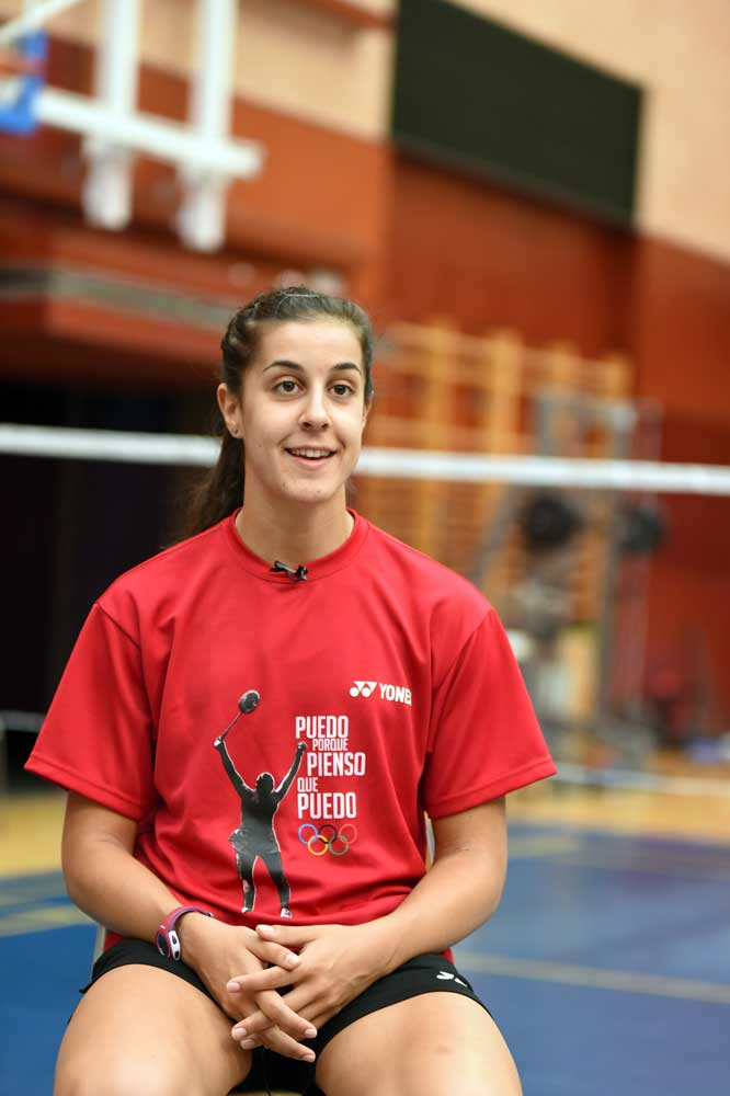 Carolina Marín posa. Foto: CSD