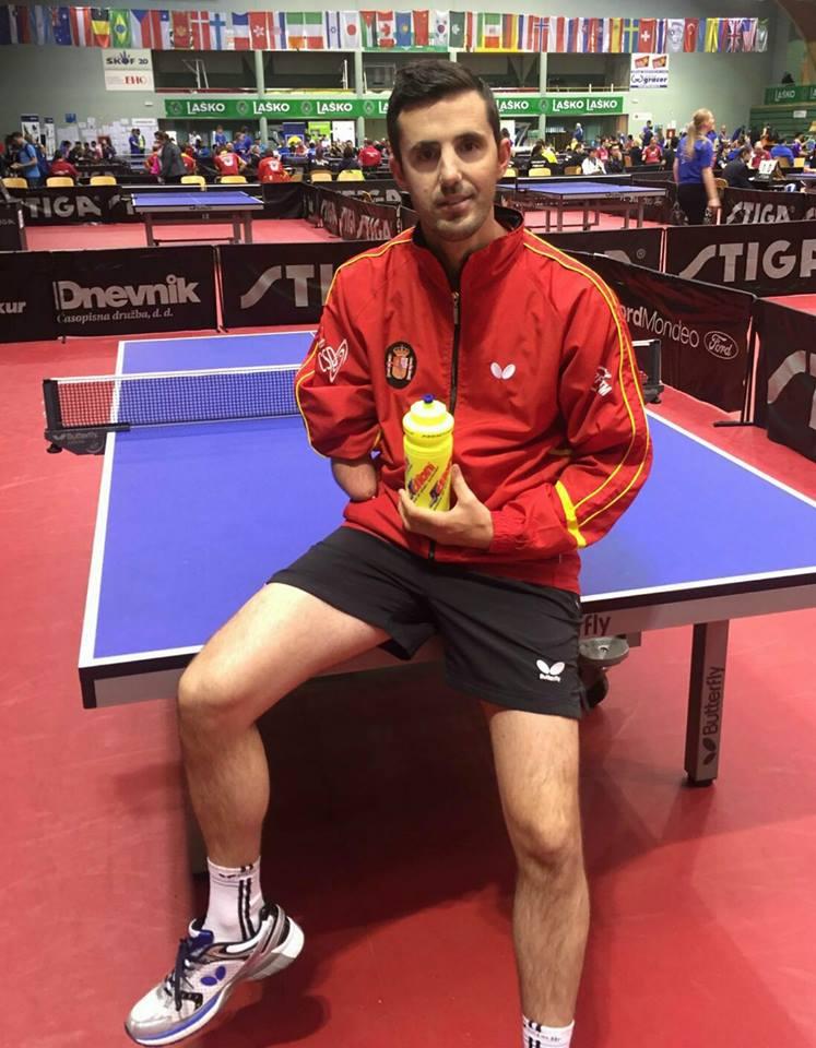 José Manuel Ruiz aspira a medalla en Río. Fuente: RFETM