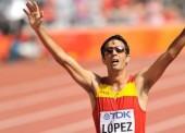 Miguel Ángel López, 11º en la prueba de 20 km marcha