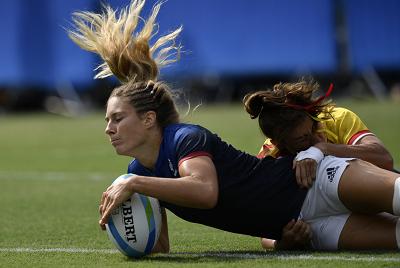 Rugby 7 femenino Fuente: RFR