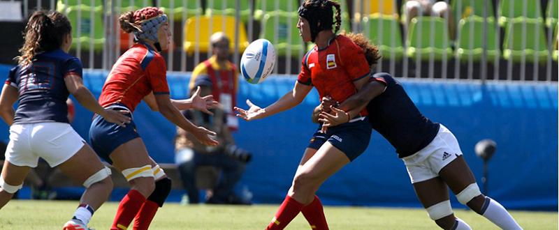 Equipo nacional de Rugby 7 femenino Fuente:RFR