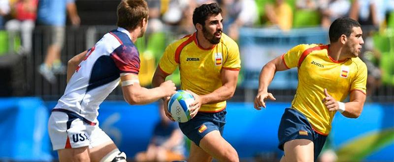 Selección española de rugby sevens Fuente:RFR