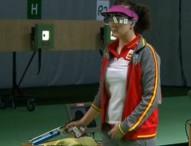 Sonia Franquet consigue el diploma olímpico en la final de tiro