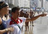 Érika Villaécija, 18º en los 10 km de aguas abiertas