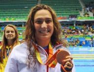 Ariadna Edo se baña en bronce en Río