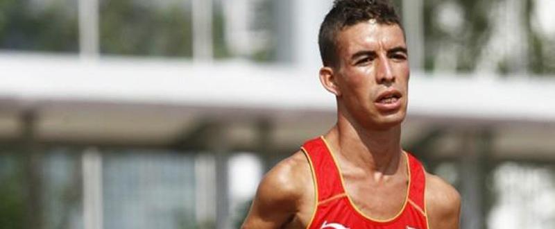 El atleta español de origen marroquí, Abderrahman Ait, es favorito al oro en maratón en los Juegos de Río. Fuente: AD