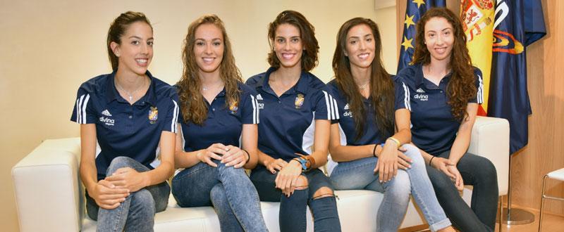 Alejandra Quereda, Elena López, Lourdes Mohedano, Sandra Aguilar y Artemi Gavezou. fFuente: CSD