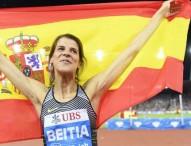 Broche de diamante para Ruth Beitia