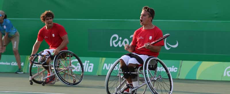 Daniel Caverzaschi y Martín de la Puente. Fuente: Diego Luchini