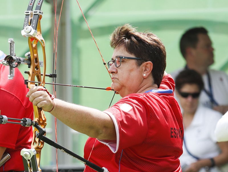 Carmen Rubio compitiendo en Río 2016. Foto: CPE