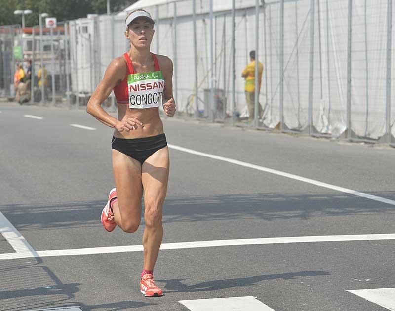 Elena Congost pone un broche de oro maratoniano a Río