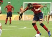 'La Roja' de fútbol para ciegos pierde con Argentina