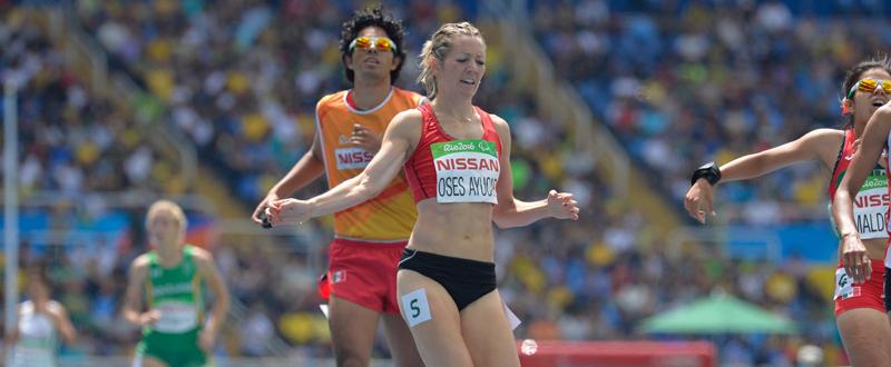 La atleta navarra, Izaskun Oses. Foto: CPE