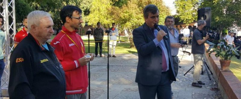 Jesús Ángel García Bragado junto a Miguel Cardenal. Fuente: CSD