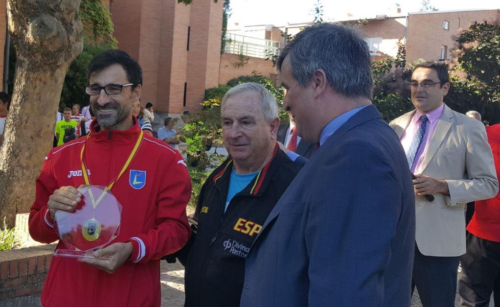 García Bragado, Lázaro Linares y Miguel Cardenal. Fuente: CSD