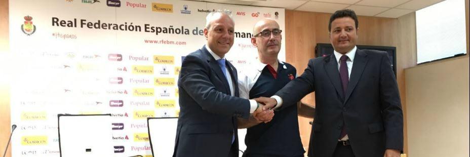 Jordi Ribera en la presentación como nuevo seleccionador en el CSD. Fuente: Javier García.