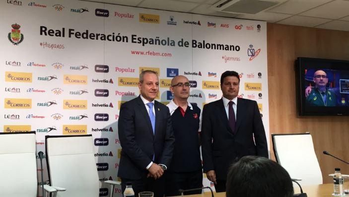 Óscar Graefenhain, Jordi Ribera y Francisco V. Blázquez. Fuente: Javier García.